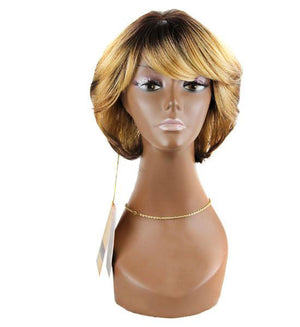 Signature Looks Synthetic Full Wig- Olive