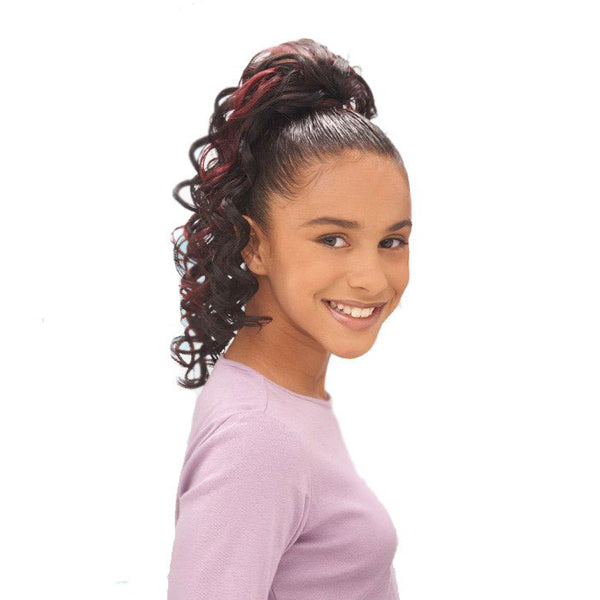 FreeTress Drawstring Ponytail for Kids - Minnesota Girl
