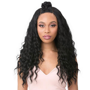 It's a Wig Human Hair Premium Mix Vixen Y Lace Front Wig - VIXEN Y YAKI RIPPLE WAVE
