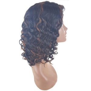 Beautician Friends Halo Remi Quality Lace Part Wig - SLW - SAMANTHA