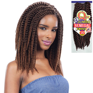 Milkyway Que Crochet Braiding Hair - 2X Jumbo Senegal Twist 10""