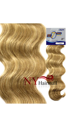 Fashion Source Body Wave Human Hair Clip 18""