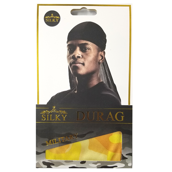 Military Silky Durag - Yellow