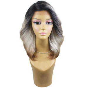 SIGNATURE LOOKS SYNTHETIC LACE FRONT WIG - SK 710