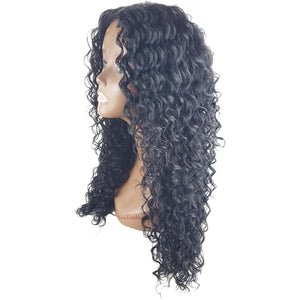 Signature Looks Synthetic Lace Part Full Wig - SK 919