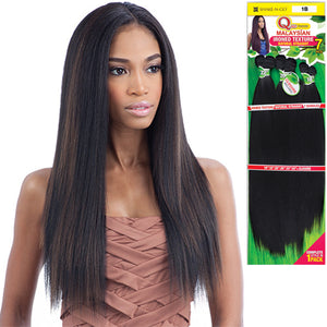 "MilkyWay Que Human Blend Weave - Malaysian Ironed Texture Natural Straight 7PCS-14""16""18"""