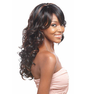 Vanessa Express Synthetic Full Wig - Super Moon (Long Spiral Roll Wave)