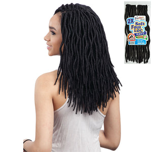 Freetress Equal Synthetic Braid - 2X SOFT WAVY FAUX LOC 12""