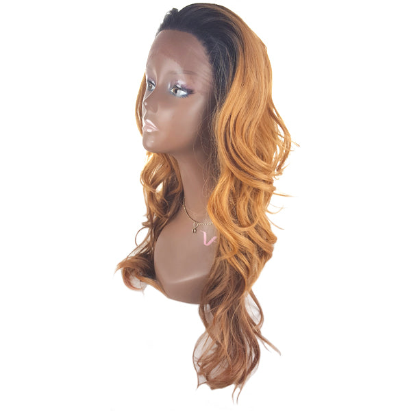 Junee Fashion Manhattan Style Synthetic Lace Front Wig - Lace WHITNEY