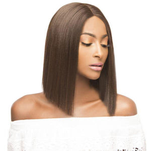 The Wig Brazilian Human Hair Blend Lace Front Wig - LH - XOXO