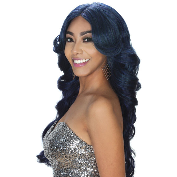 Zury Hollywood Sis Glam Collection Pre-Tweezed Lace Part  Wig - GLAM-H JOO