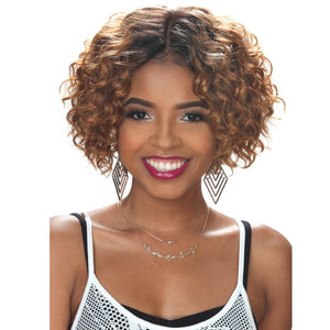 Zury Hollywood Sis NaturaliStar 100% Human Hair Pre-tweezed Part   Wig - HR-NAT 3A ROXY