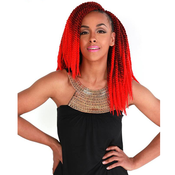 Zury Hollywood Crochet Braiding Hair - Senegalese Twist Big 14""