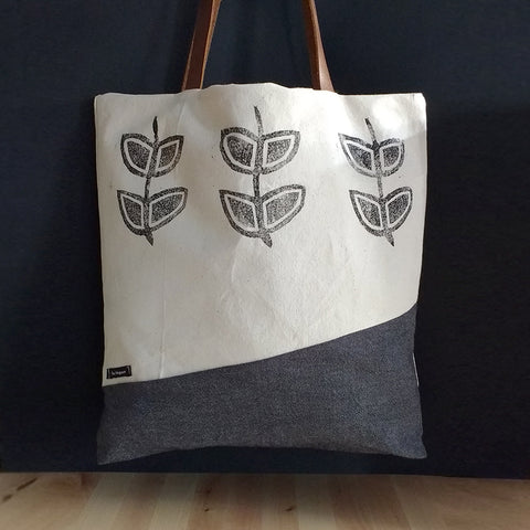 Branch leaves - Tote bag