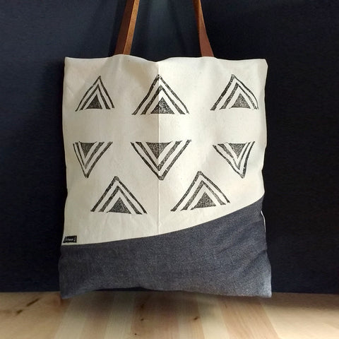Triangles - Tote bag