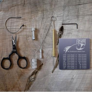 Rising Fly Fishing Fly Tying Kit The Fly Tying Kit by Rising