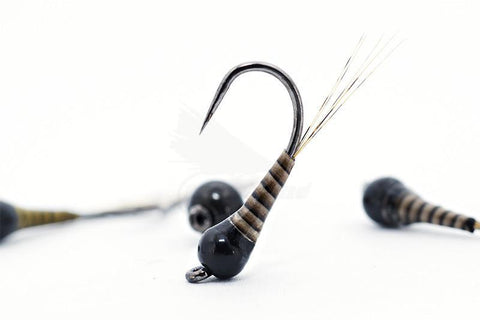 The Riffle Fly Company Flies Natural Quill Jig Barbless Frenchie