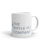 The Riffle Fly Company Mug 11oz TRFC Brand Mug made in the USA