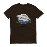 The Riffle Fly Company T-Shirt Chocolate / S Go For The Throat - Cutthroat T-Shirt