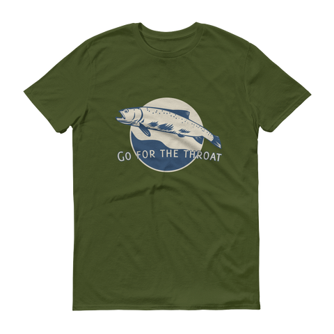 The Riffle Fly Company T-Shirt City Green / S Go For The Throat - Cutthroat T-Shirt