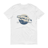 The Riffle Fly Company T-Shirt White / S Go For The Throat - Cutthroat T-Shirt
