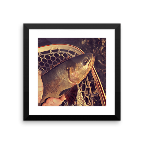 The Riffle Fly Company Wall Art Default Title Cutthroat Wall Art - All Proceeds go to Trout Unlimited