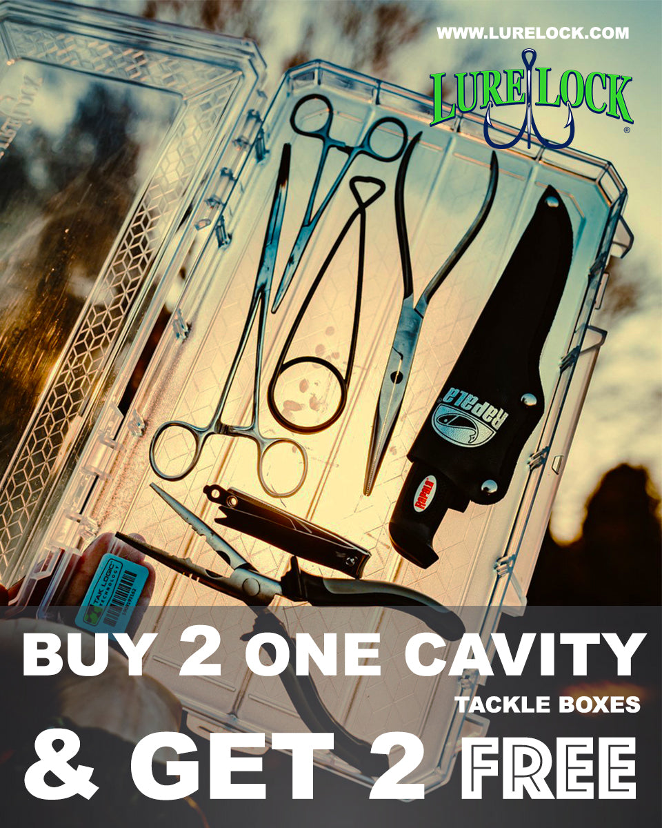 Get 4 small tackle boxes for the price of two