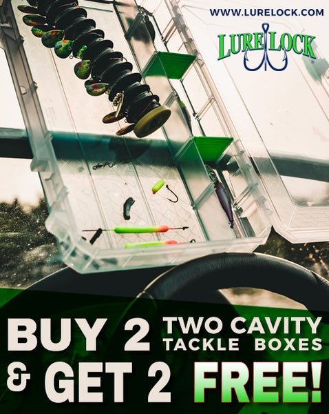Get 4 Large Tackle Boxes for the Price of Two