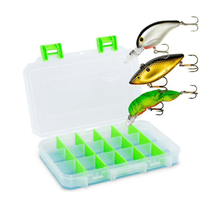 Medium Box with 3 Free Lures Selected by Bill Dance