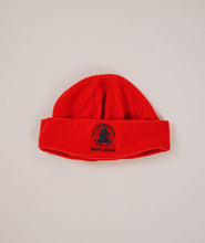 V&A Logo Fleece Beanie Red