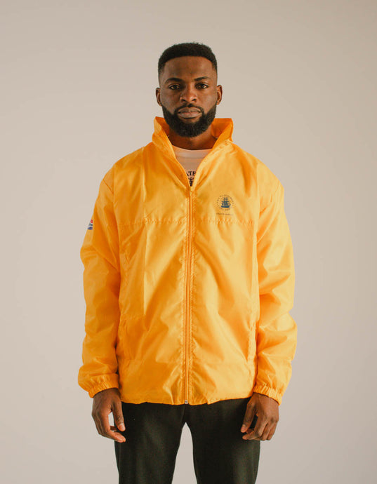 Unisex Lightweight Windbreaker Yellow