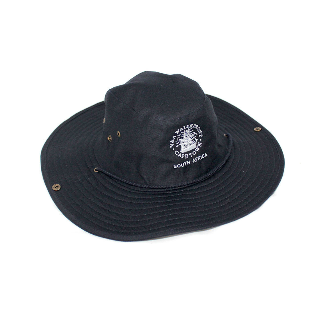 V&A Logo Cricket Cap Navy