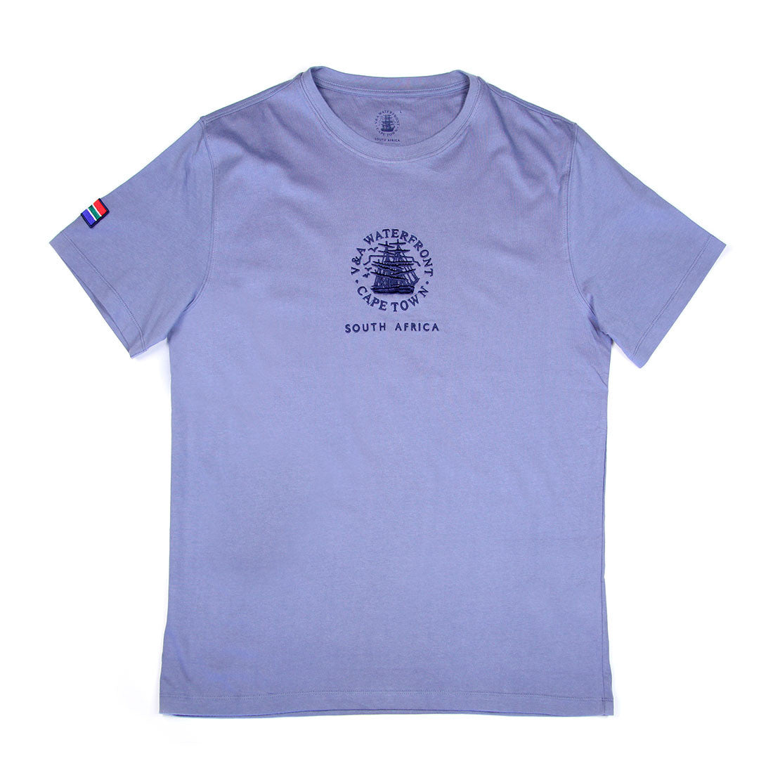Mens Short Sleeve T-shirt Airforce Blue
