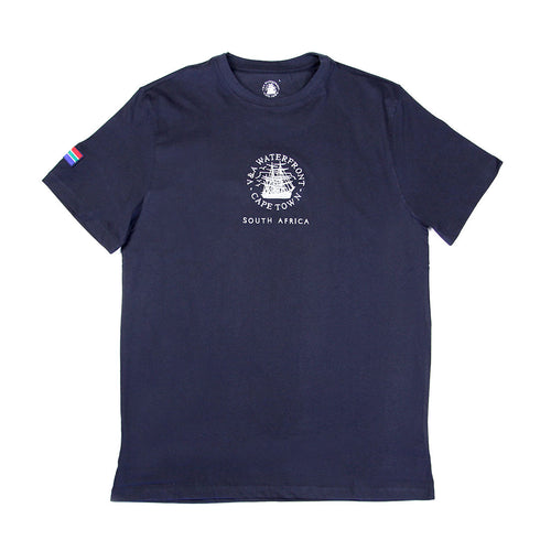 Mens Short Sleeve T-shirt Navy