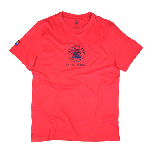 Mens Short Sleeve T-shirt Red