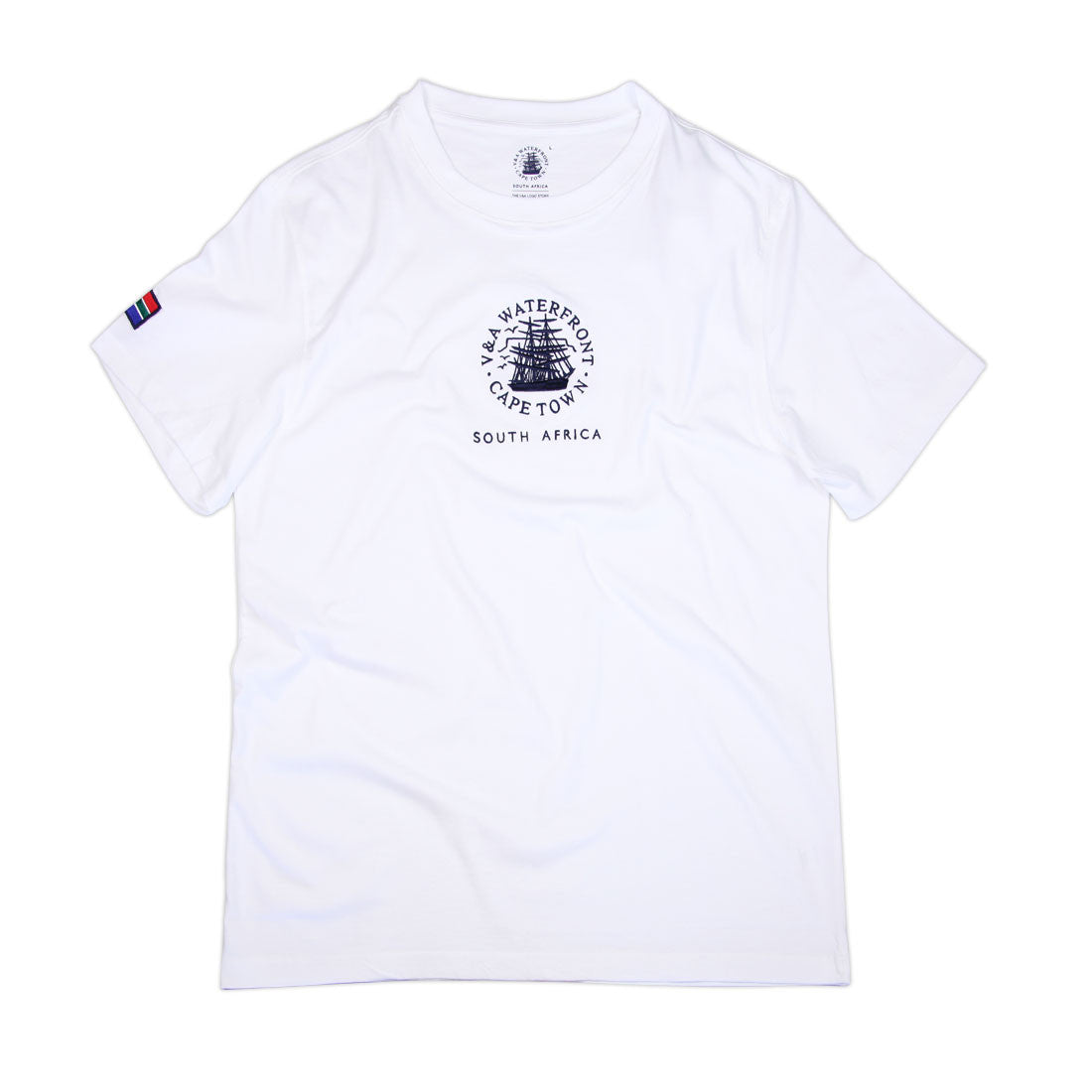 Mens Short Sleeve T-shirt White