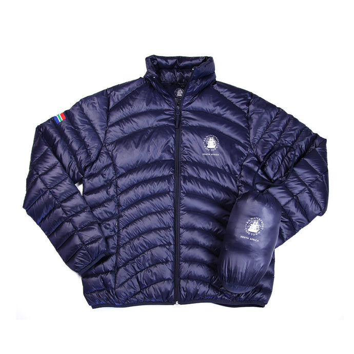 Ladies Goose Down Puffer Jacket Navy
