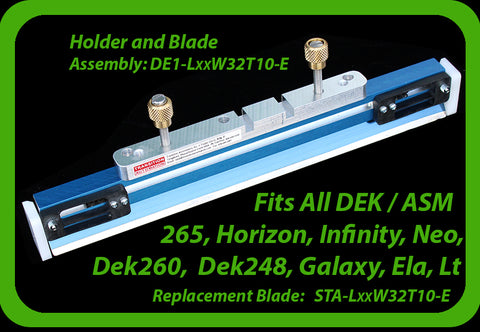 fits DEK ASM All Printer Models
