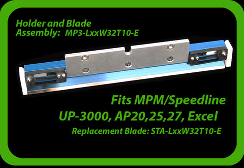 fits MPM Speedline AP Series and  UP-3000 (see other MPM styles here)