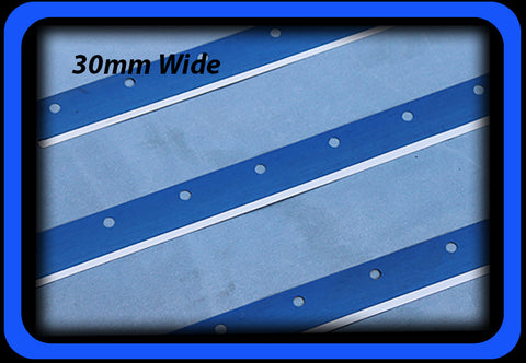SMT Squeegee Blade 30mm wide with Holes for GKG / Juki Holders