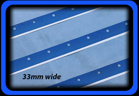 Metal Squeegee with Holes for Ekra Asys