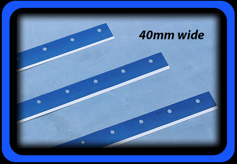 SMT Squeegee Blade 40mm wide with Holes for Go Printer PBT