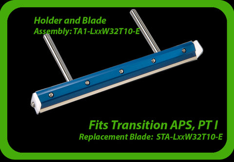 fits Transition APS Printek 1  (see other Transition printer squeegee models here)