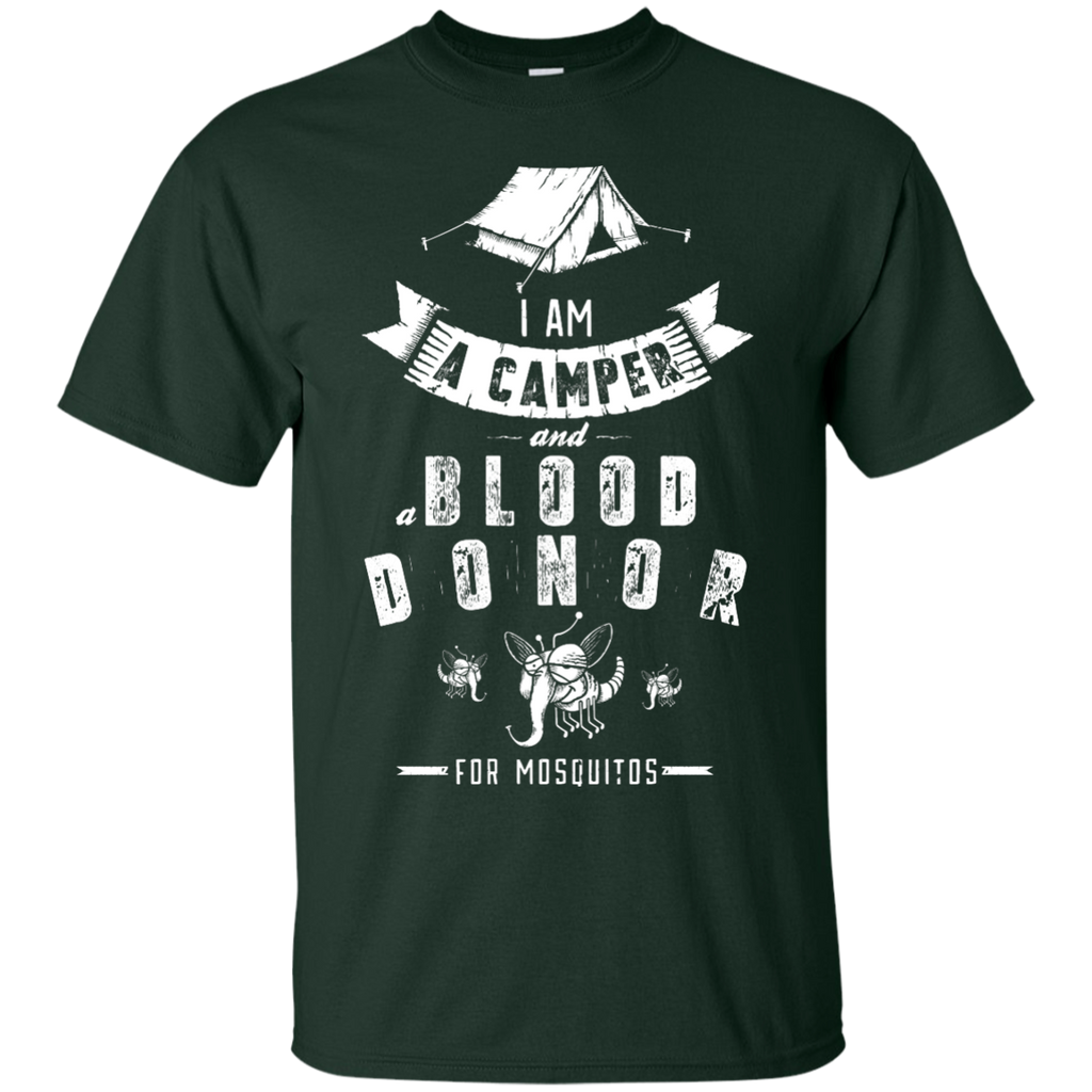 Camping - I am a camper funny T Shirt & Hoodie