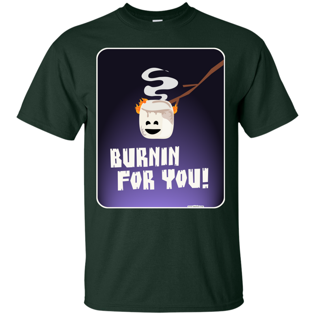 Camping - Burnin For You Funny Marshmallow funny food T Shirt & Hoodie