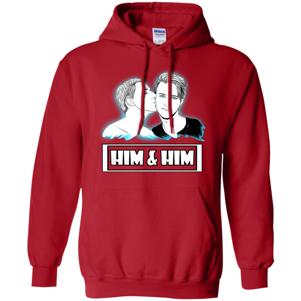 LGBT - Official Logo of Him and Him lgbt T Shirt & Hoodie