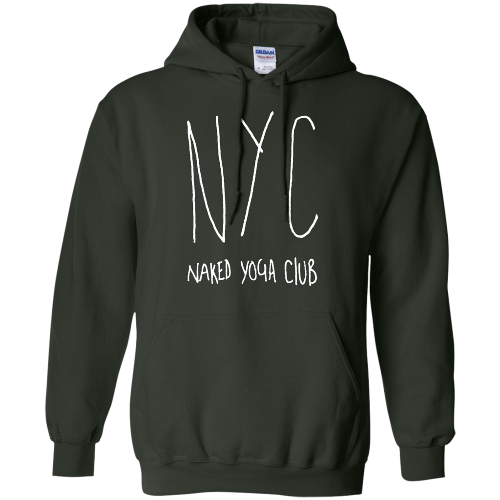 Yoga - Naked Yoga Club T Shirt & Hoodie