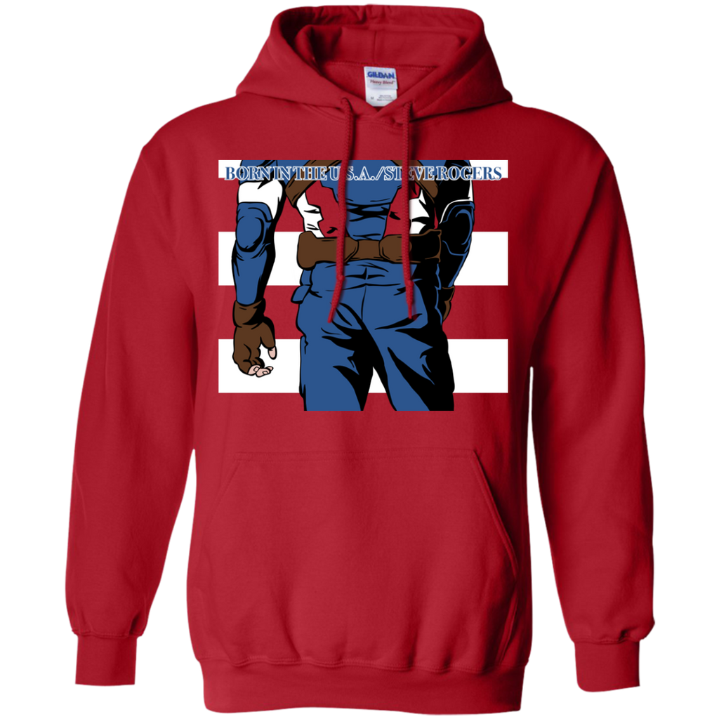 Marvel - Born In The USARed marvel cinematic universe T Shirt & Hoodie