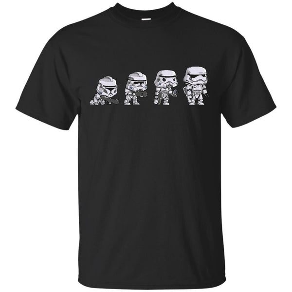 STAR WARS - Star Wars Trooper Pop Funko Evolution T Shirt & Hoodie