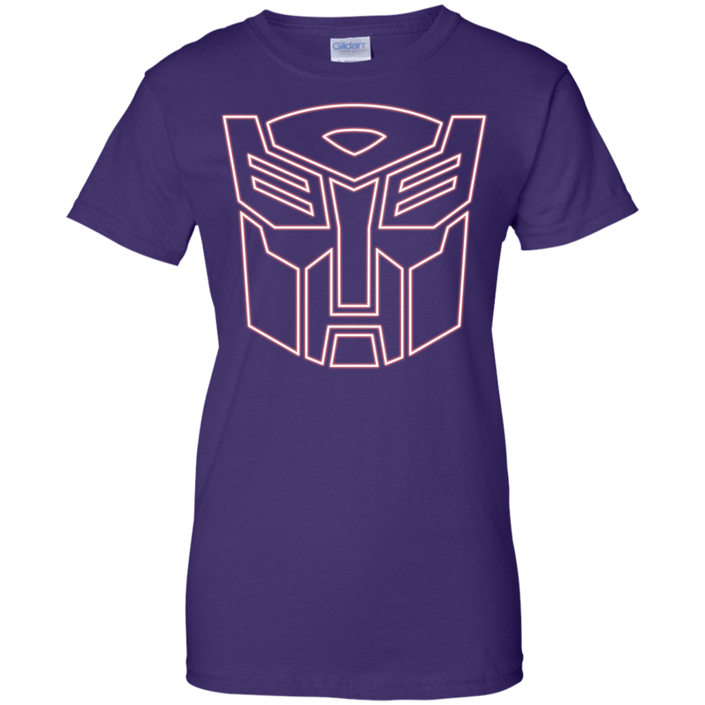 Marvel - Autobot Logo Glow  Red transformers T Shirt & Hoodie